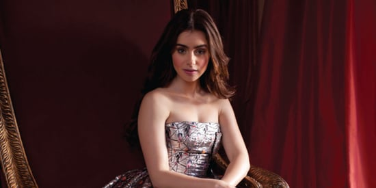 Lily Collins Gets The Fairy Tale Treatment In CR Fashion Book