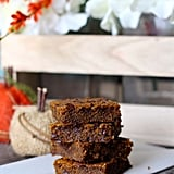 Ooey Gooey Chocolate Chip Pumpkin Bars