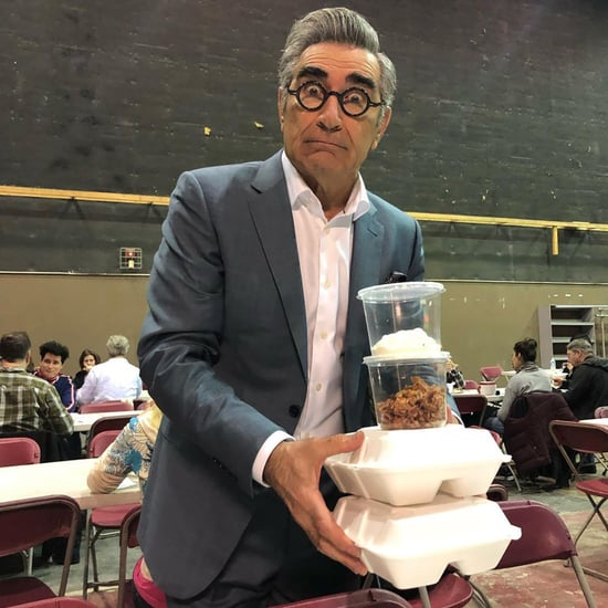 Annie Murphy's Birthday Instagram For Eugene Levy