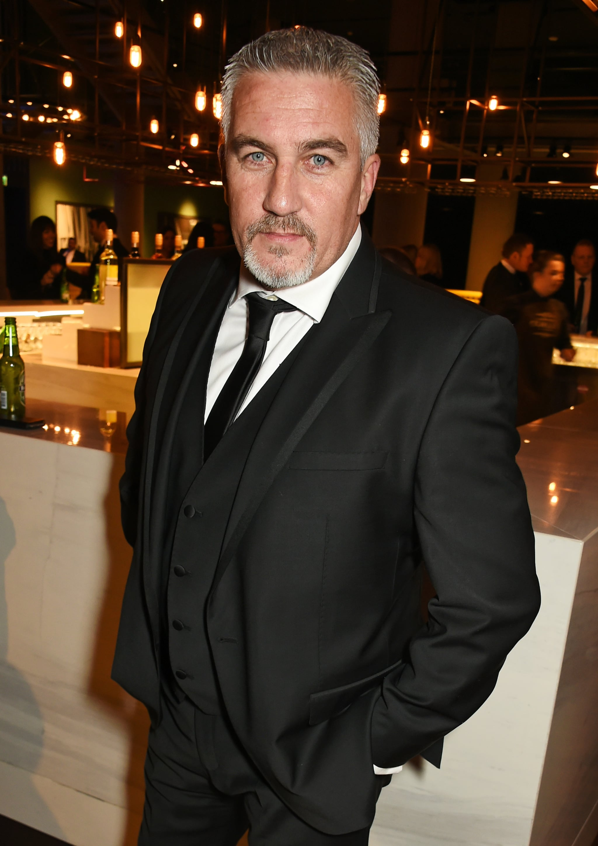 LONDON, ENGLAND - JANUARY 20:  Paul Hollywood attends the 21st National Television Awards at The O2 Arena on January 20, 2016 in London, England.  (Photo by David M. Benett/Dave Benett/Getty Images)