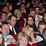 Prince William and Kate Middleton were side by side in April for the London premiere of African Cats.