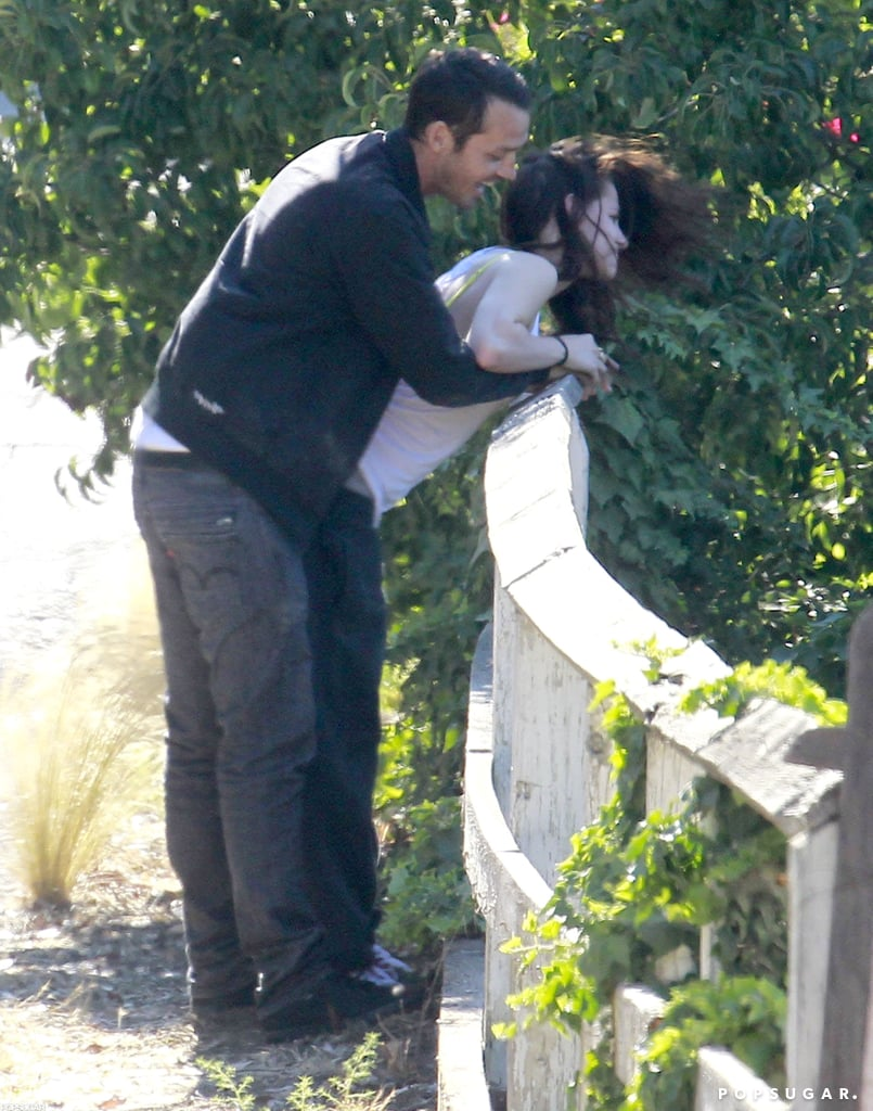 Kristen Stewart and Rupert Sanders met up for a secret rendezvous.