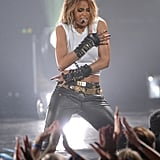 Ciara performed a tribute to Michael Jackson.