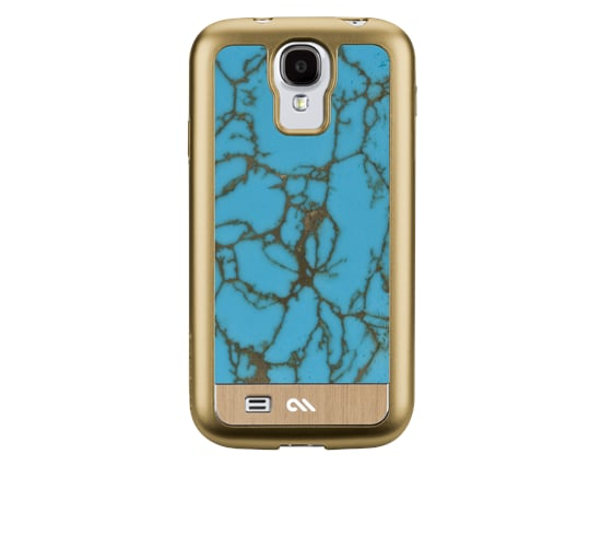 Case-Mate's Turquoise Gemstone Case ($150) takes our prize as the ultimate indulgent gear for the S4. The inlay is crafted of real turquoise for those days you're feeling extra fancy.