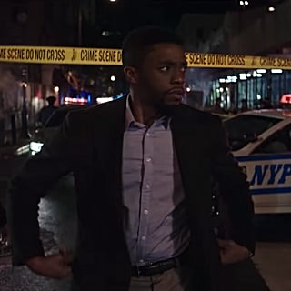 Chadwick Boseman in 21 Bridges Movie Trailer