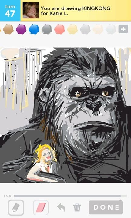 King Kong Best Draw Something Pictures Popsugar Tech Photo 154