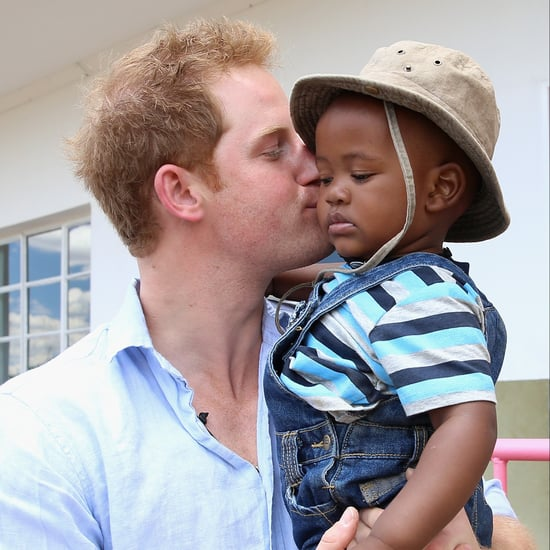 Photos of Prince Harry With Kids