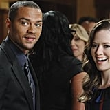 Jackson Avery and April are all smiles.
