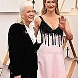 Diane Ladd and Laura Dern at the 2020 Oscars