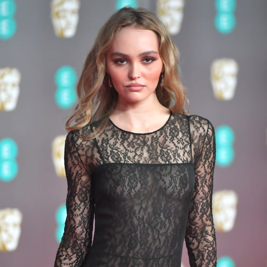 Lily Rose Depp's See-Through Chanel Dress at 2020 BAFTAs