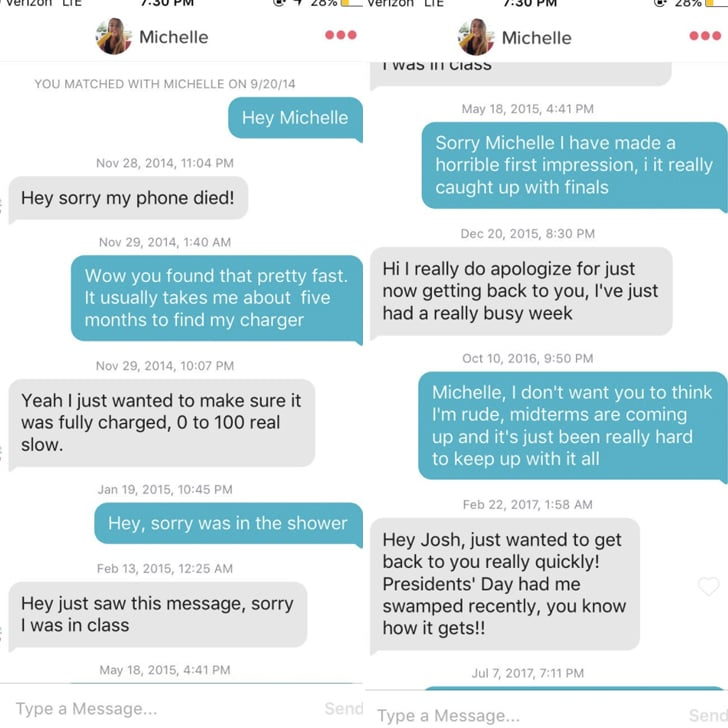 Tinder couple to meet for first date after three years of messages