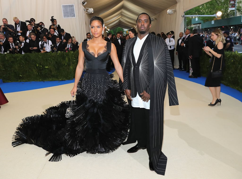 Diddy and Cassie at the 2017 Met Gala | POPSUGAR Celebrity ...