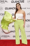 Ashley Graham's Neon Pants Direct Your Attention Straight to Her Glorious Curves