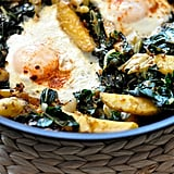 Baked Eggs With Spinach, Ricotta, and Leeks
