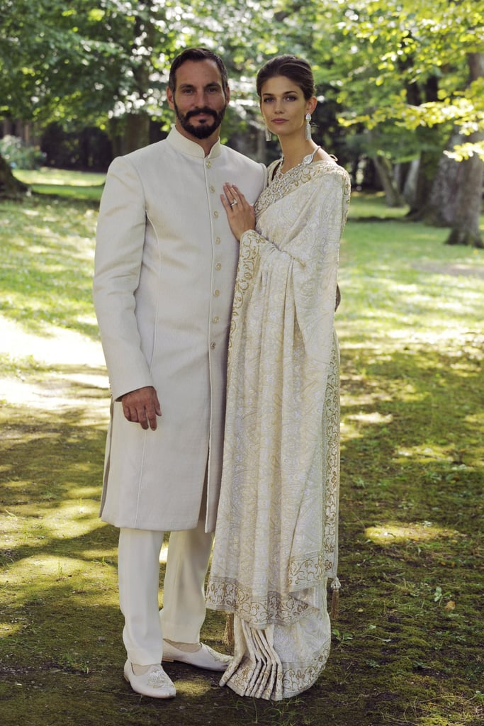 Prince Rahim Aga Khan and Kendra Salwa Spears
