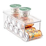 iDesign Linus Fridge Bins Soda Can Organiser With Shelf