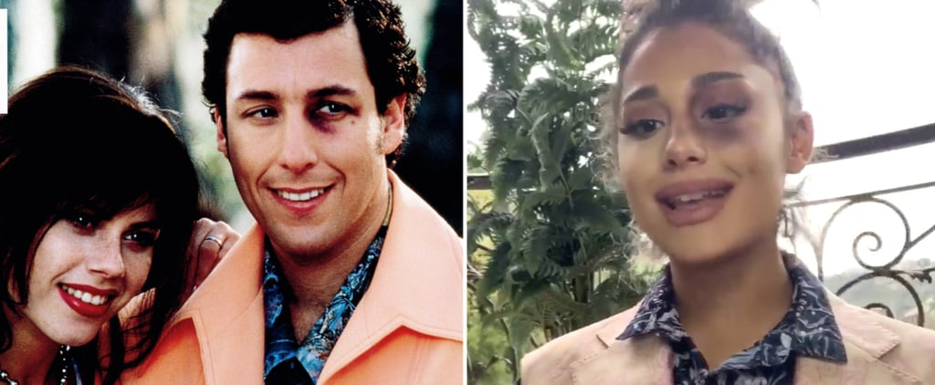 Adam Sandler Reacts to Ariana Grande's Waterboy Re-Creation