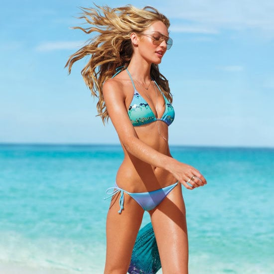 The Victoria's Secret swimsuit catalog is one long parade of bikinis and beaches.