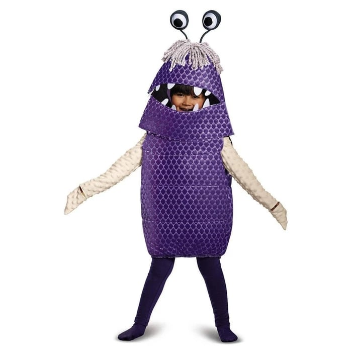 Girls' Monsters Inc Boo Deluxe Toddler Costume