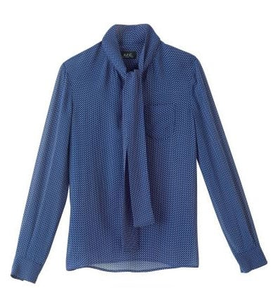 Front-Tie Blouse ($175, originally $250)