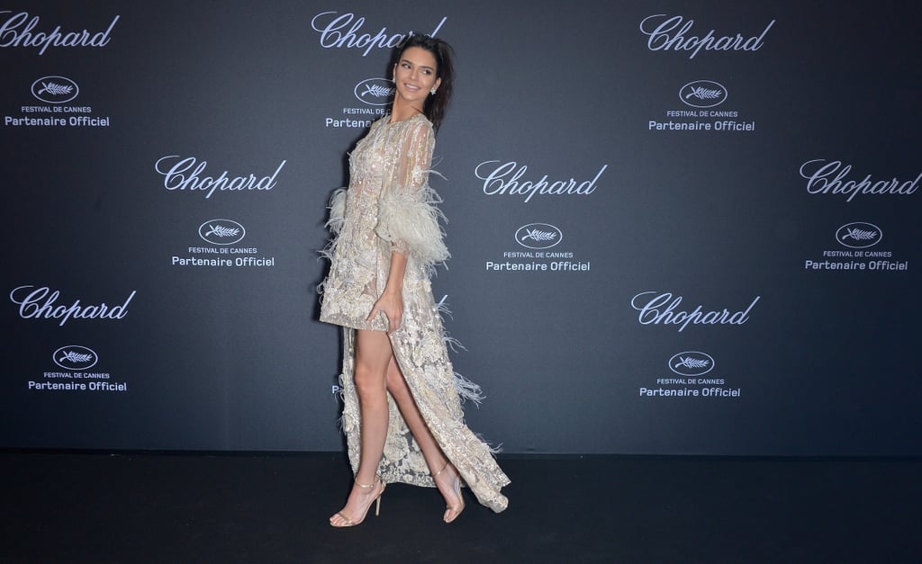 Kendall Jenner Elie Saab Dress at Cannes Chopard Party 2016