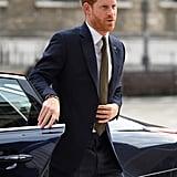 Prince Harry Closing His Door in 2019