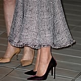 Kate's Pumps Were Velvet