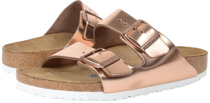 Can we all agree Birkenstock Soft Footbed Dress Sandals ($135) look extra comfy?