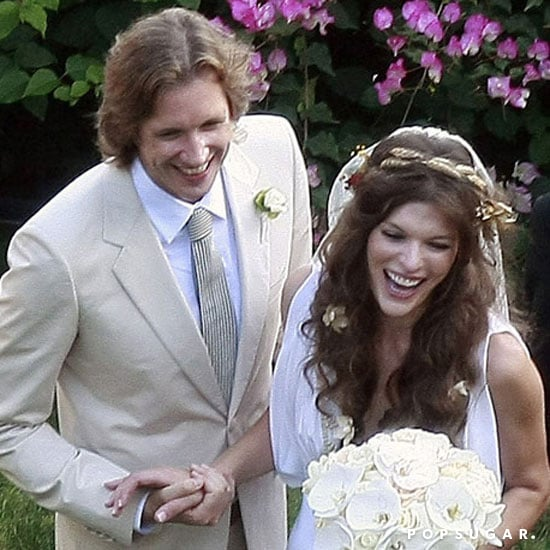 Milla Jovovich and Paul W. S. Anderson tied the knot in August 2009 in LA.