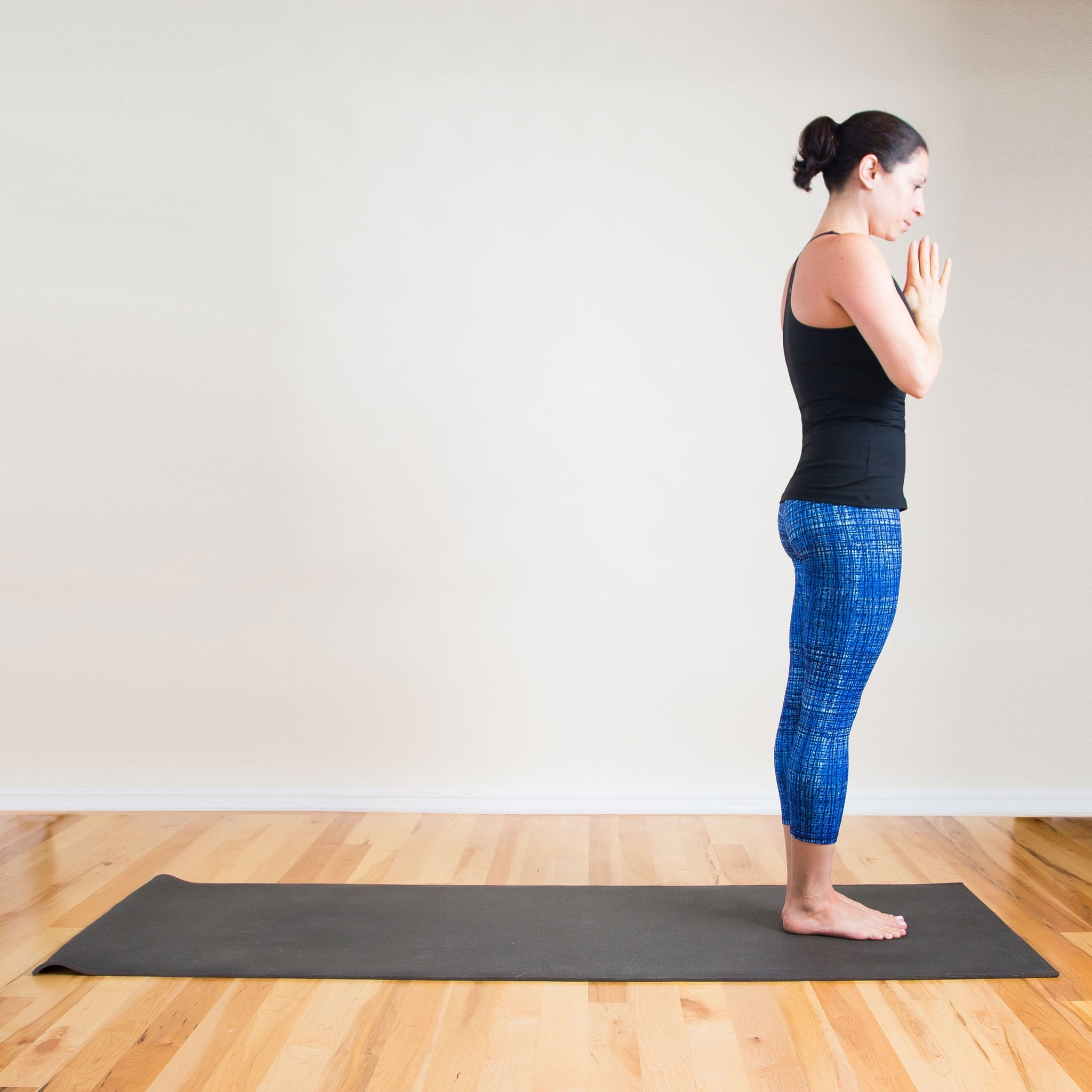 Mountain Pose  Help Relieve Anxiety With These Calming Yoga Poses