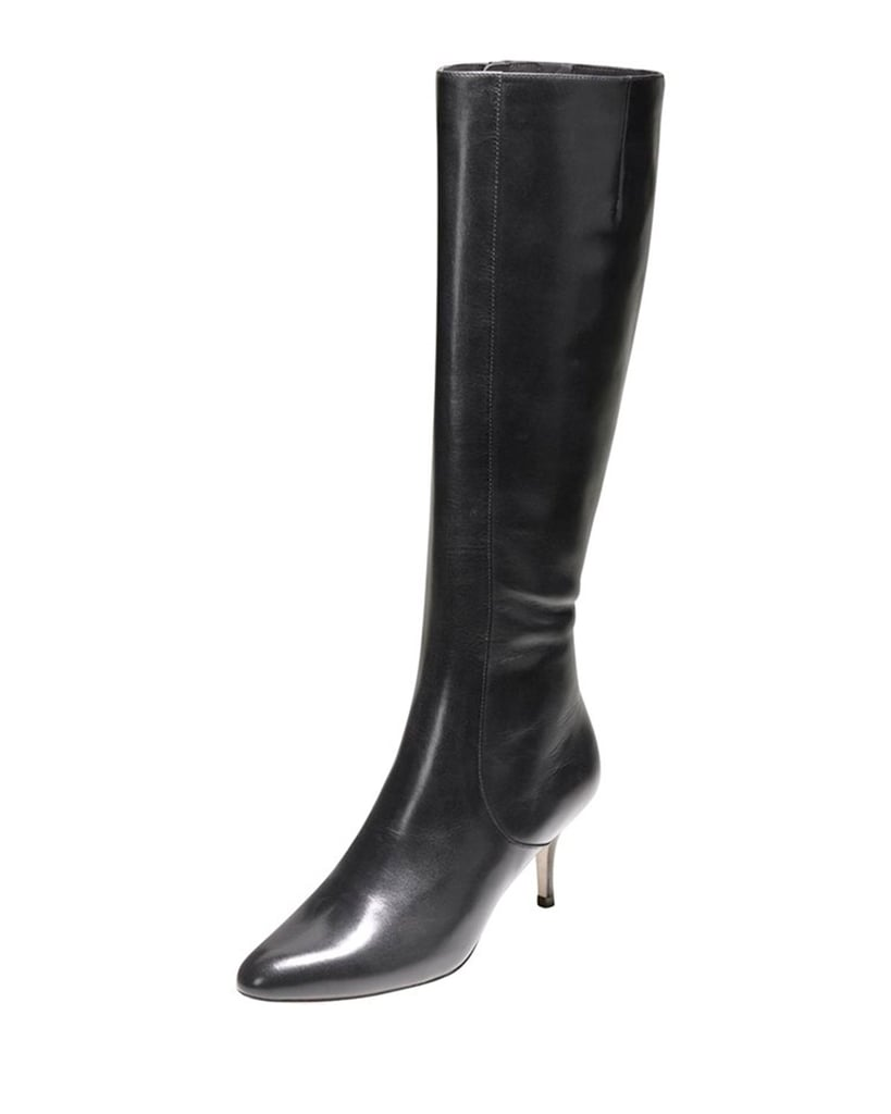 Cole Haan Carlyle Point-Toe Dress Boot, Black ($398)