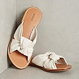 For a relaxed look, wear these Soludos Knotted Slide Sandals ($98).