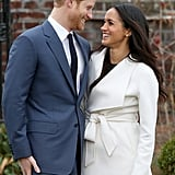 Harry and Meghan's First Kiss