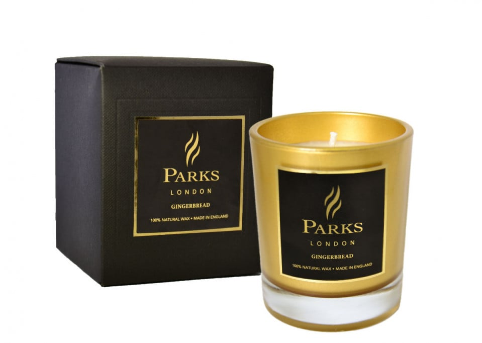 Parks London Winter Wonders Gingerbread Candle