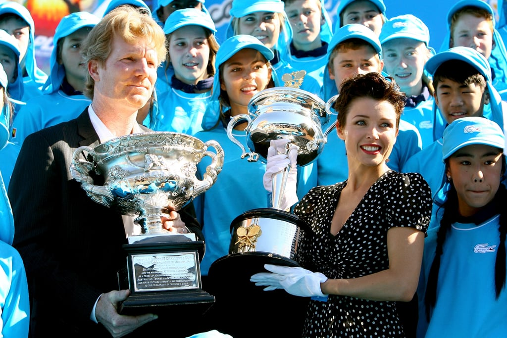 Jim Courier and Dannii Minogue