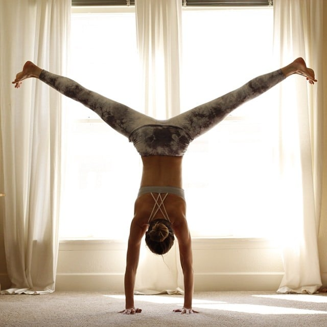 Handstands! Source: Instagram user stephynow