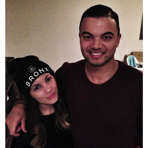 Guy Sebastian caught up with his former X Factor contestant