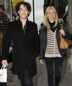 Photos of Pregnant Denise Van Outen and Lee Mead at Hospital For Checkup, Denise Van Outen Pregnancy Pictures