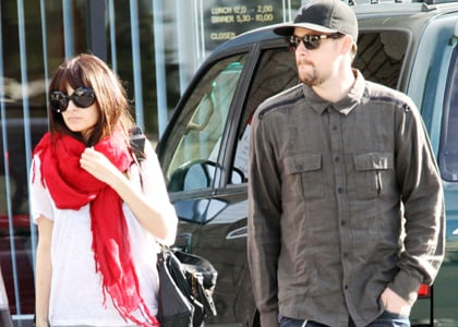 Nicole Richie and Joel Madden out and about