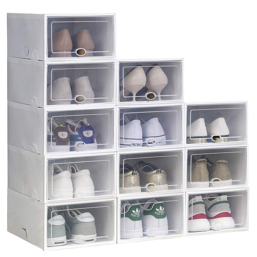 IRONLAND Storage Shoe Boxes