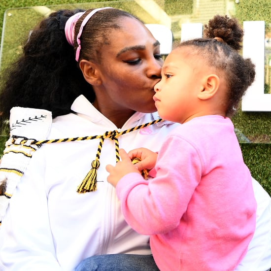 Serena Williams and Olympia's Morning Beauty Routine: Video