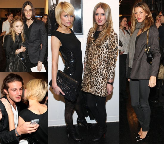 Giselle and Mary-Kate Party with Paris and Nicky at Fashion Week