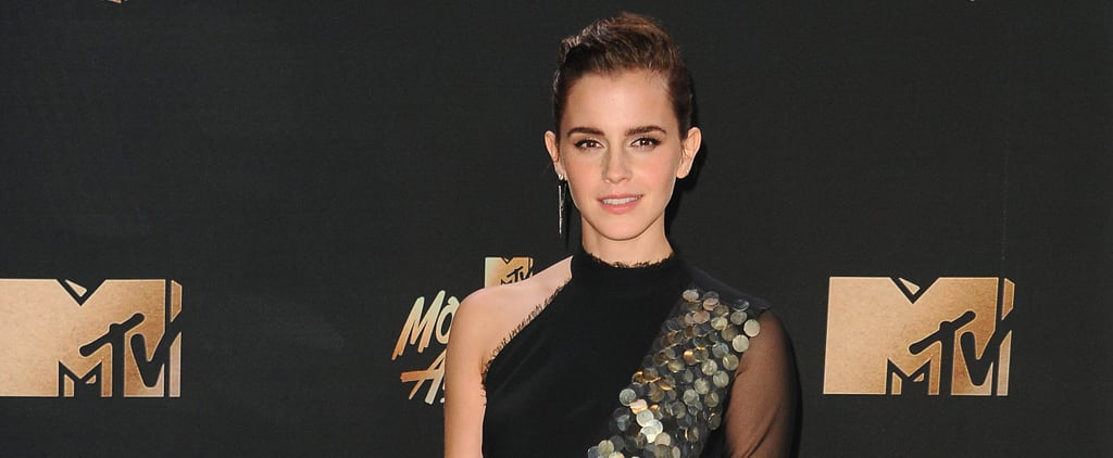 Emma Watson's Dress Was a Disco Ball of Fun at the MTV Movie and TV Awards