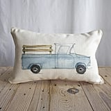 Truck Pillow by Adam Trest ($42)