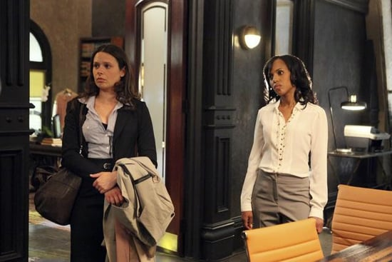 Katie Lowes and Kerry Washington in Scandal.</p> <p>Photos copyright 2012 ABC, Inc.