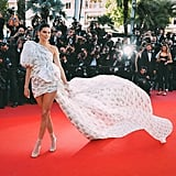 The Long Train on Kendall Jenner's Giambattista Valli Couture High-Low Gown