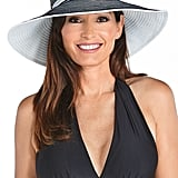 A Wide-Brim Hat With UPF Protection
