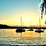 Joe Jonas snapped a photo of an impressive sunset. Source: Instagram user adamjosephj