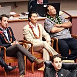 Pictures of Alex O'Loughlin and Daniel Dae Kim in Hawaii