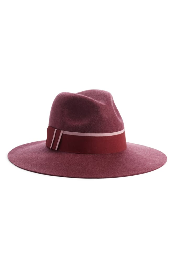Halogen Felt Panama Hat